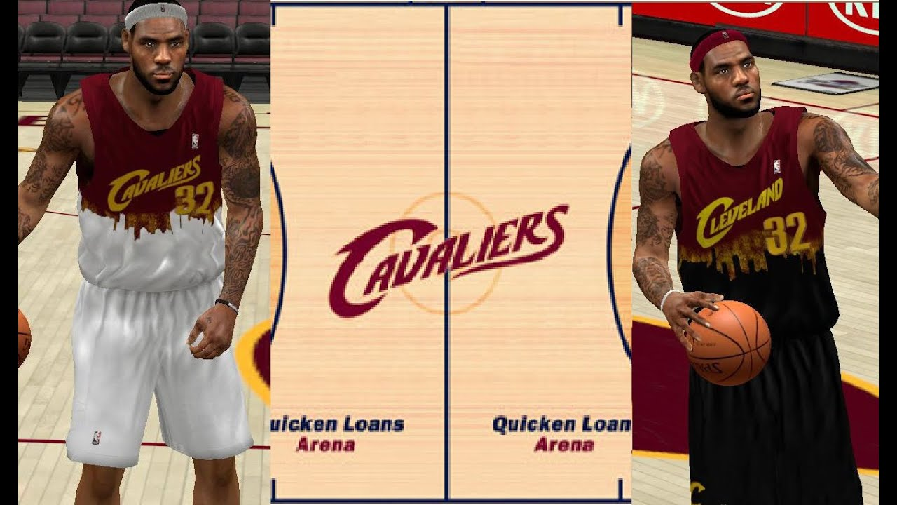 62ef5ccdf4e4 NBA 2K14 Another Fictional Jersey For Cleveland Cavilers - YouTube