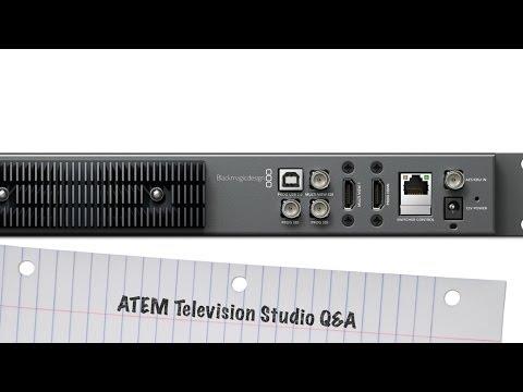 Atem Television Studio инструкция на русском - фото 4