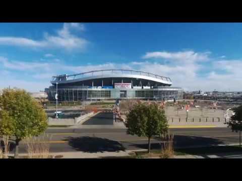 Sports Authority Stadium Drone Flight,  Denver Broncos
