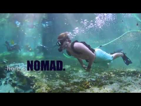 NOMAD by bLU3 | Ultra-portable tankless dive system