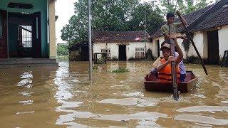 Lũ dâng cao không ngừng, TP Thanh Hóa sơ tán hơn 7.000 dân