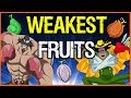 The Weakest Devil Fruits? - One Piece Theory