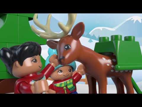 Duplo Weihnachten.Santa S Winter Holiday Lego Duplo 10837 Product Animation