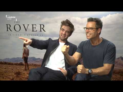 Robert Pattinson and Guy Pearce reveal who (or what) they slept with on the set of The Rover