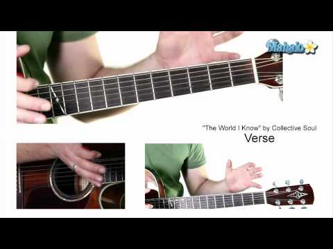 "How to Play ""The World I Know"" by Collective Soul on Guitar"