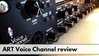Art Voice channel Channel Strip and Pre Amp