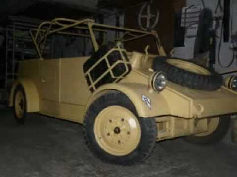 ww2  TYPE 82  kubelwagen replica from beetle