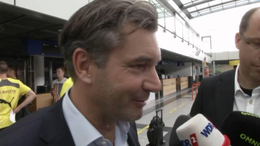 """BVB-Manager Zorc verspricht: """"Holen noch mindestens einen Spieler""""   Borussia Dortmund"""