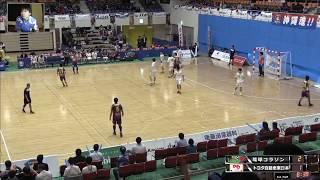 日本ハンドボールリーグ琉球コラソン vs トヨタ自動車東日本 前半(2018.2.17)