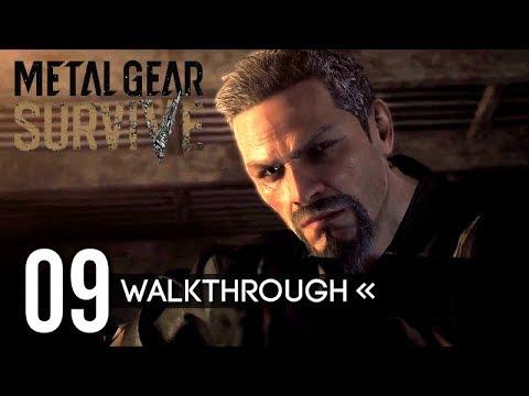 Metal Gear Survive | Gameplay Walkthrough | PART 9 - Seth & Dan / Defend Digger 【Full Game】