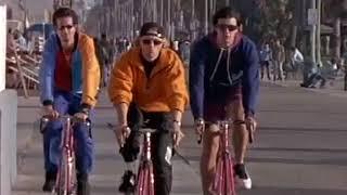 """Сериал """"Полицейские на велосипедах"""". Олег Штефанко в роли Зигмунда."""