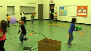 PE Balloon Lesson Kindergarten