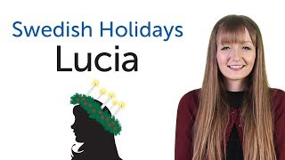 Learn Swedish Holidays - Lucia