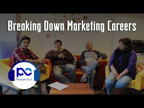 S01E03 - Perspectico Podcast - Breaking Down Marketing Careers