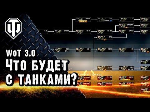 Какие изменения ждут танки в WoT 3.0