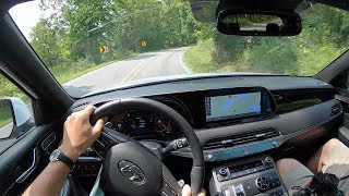 2020 Hyundai Palisade Limited AWD - POV Test Drive (Binaural Audio)