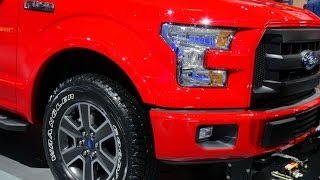 New 2015 Ford F-150 Sneak Peek From the Detroit Auto Show
