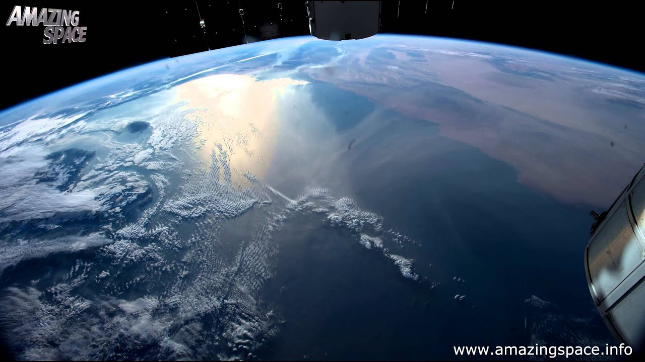 View From Space Time Lapse 4K Ultra HD Video - Earth From ...