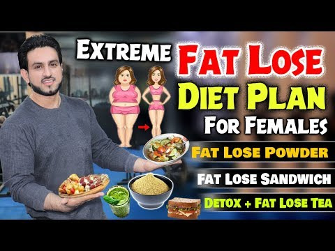 Extreme Fat Loss Diet Plan For Female    8 Weeks Plan    Episode #1 thumbnail