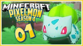 Minecraft Pixelmon Season 4: Episode 1 - BEST SEASON YET! -  Pixelmon Mod Lets Play