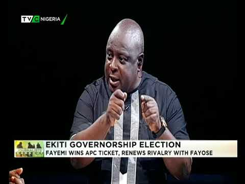 Journalists' Hangout 14th May 2018 | Fayemi battles Fayose again in Ekiti