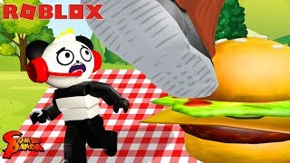 Roblox Obby We Escape The Giant Evil Fat Man Itsfunneh Vloggest