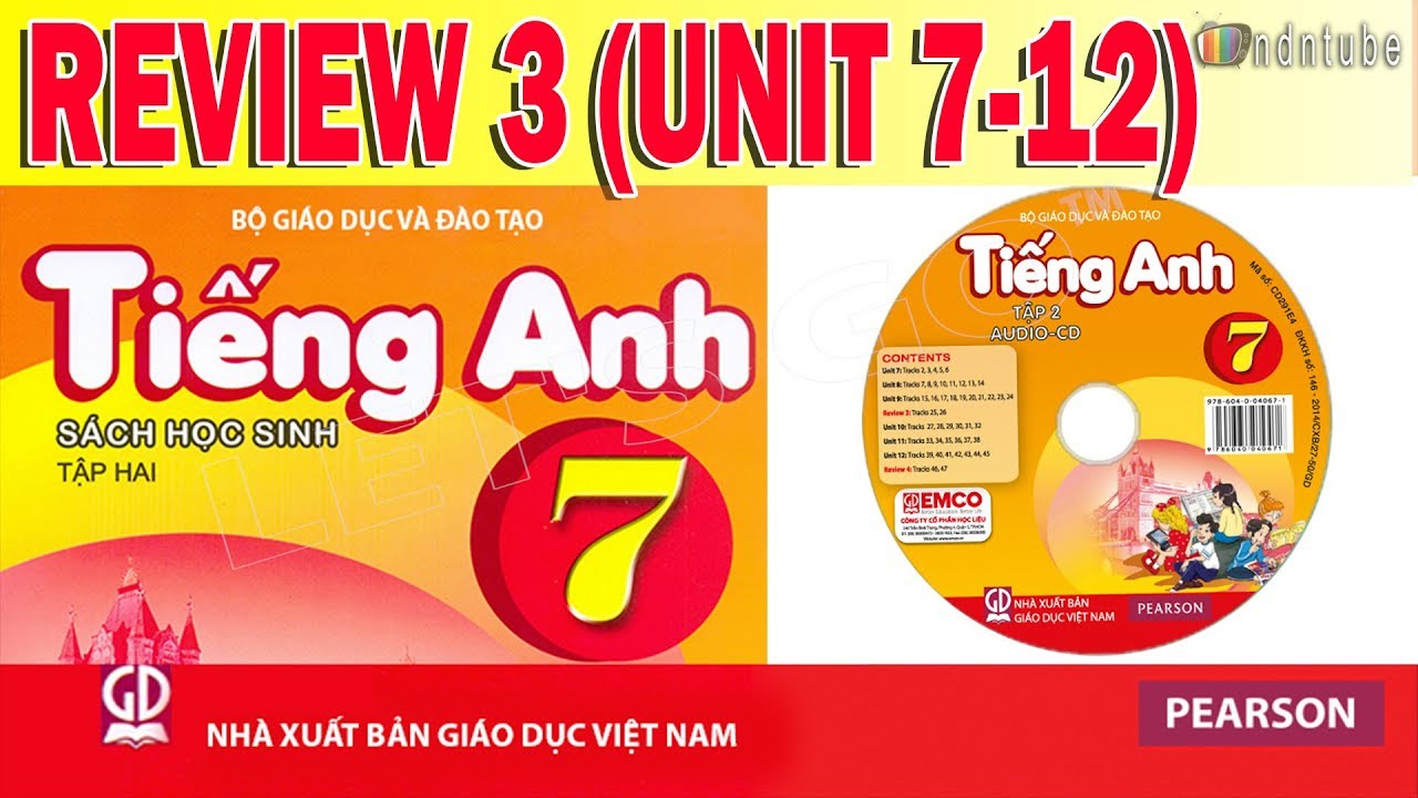 Tiếng Anh Lớp 7: REVIEW (UNITS 7-12)