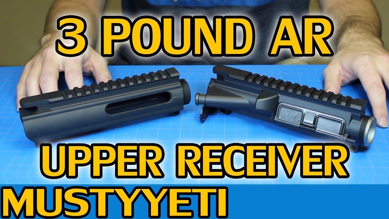 Mag Tactical Upper :: 3lb AR build pt 5 :: Musty Yeti