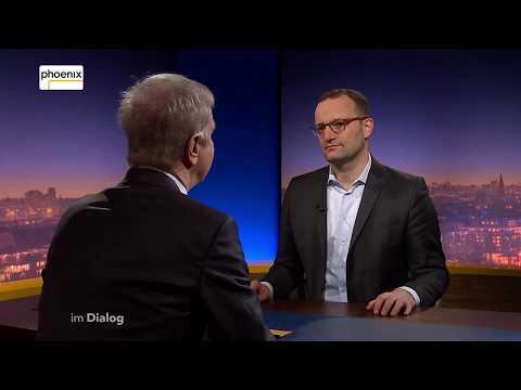 Im Dialog: Michael Hirz im Gespräch mit Jens Spahn