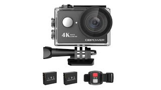 DBPOWER 4K Action Camera WIFI 12MP