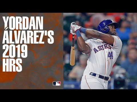 Sean Salisbury - Watch Every Single Home Run From Your Rookie Of The Year Yordan Alvarez
