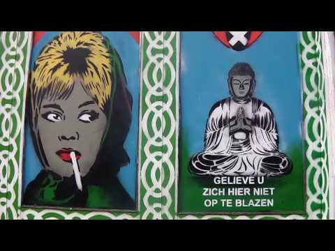 2017 03 11 Amsterdam en Melania help me