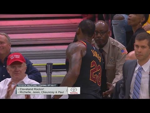 LeBron James Doesn't Give A Donald Trump Supporter His Towel in Game 3 of Cavaliers vs Celtics!