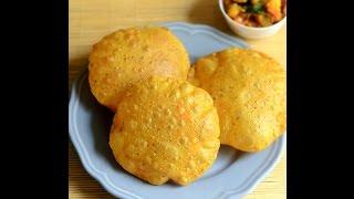 Masala poori recipe  - How to make Gujarati Masala Puri Recipe
