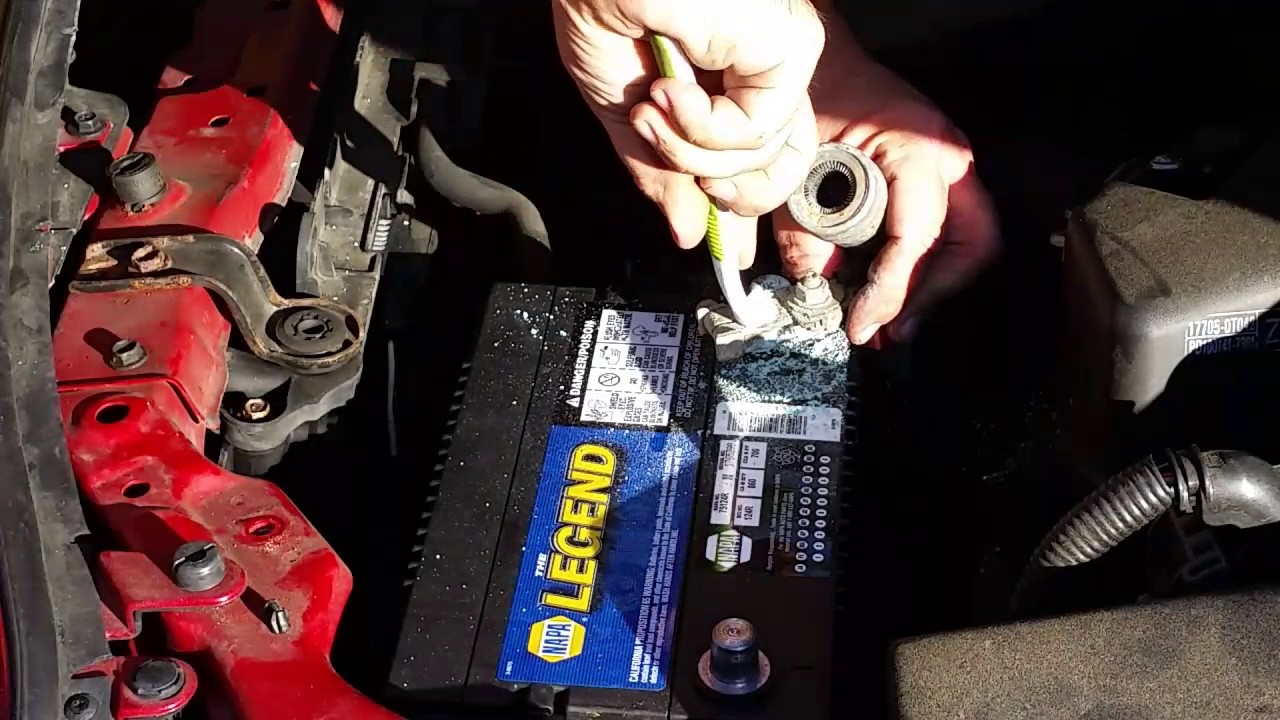How To Change A Car Battery Toyota Corolla 2010