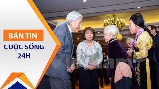 Nhật hoàng và Hoàng hậu thăm cựu quân nhân | VTC