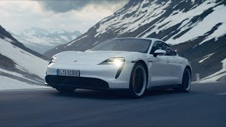The new Porsche Taycan and Olympian Aksel Lund Svindal: Experts of Speed