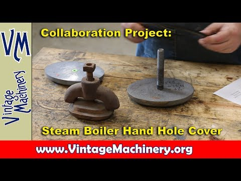 Collaboration Project: Steam Boiler Hand Hole Cover
