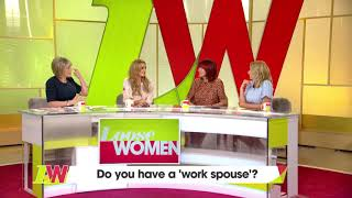 Catherine Tyldesley Just Connected With Shayne Ward | Loose Women