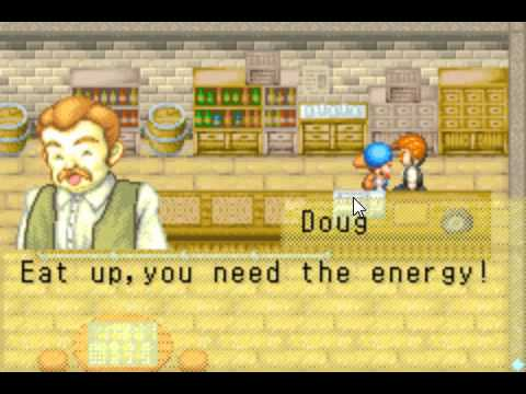 Doug Give The Recipe Chese Founde ( Harvest Moon Friends Of Mineral Town )