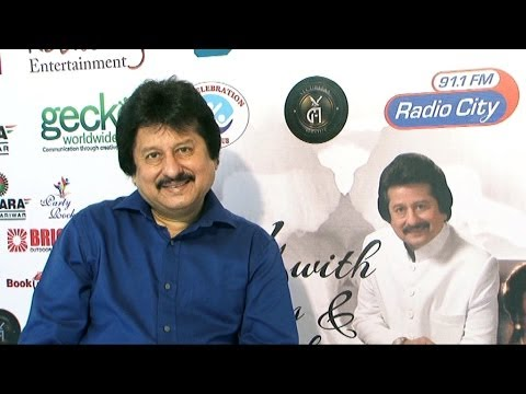 Interview Of Pankaj Udhas For 'Mehfil With Pankaj Udhas' Concert
