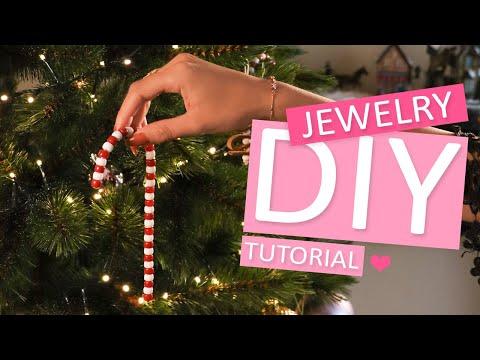 DIY Tutorial: Zuurstok kerstboomhanger
