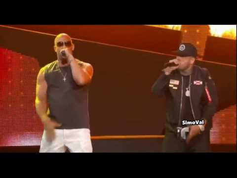 Nicky Jam y Vin Diesel la sorpresa de los  Premios Billboard 2017