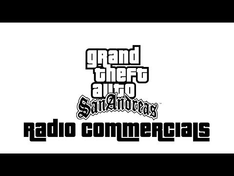 70 GTA San Andreas Radio Commercials
