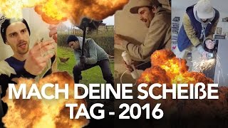 Mach deine Scheiße Tag 2016 - Heimwerkerking Fynn Kliemann