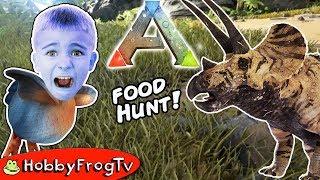 ARK Survival Evolved DODO Bird Food Hunt! Crafting Fun + Dinosaurs HobbyFrogTV