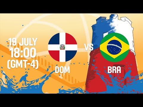 Dominican Republic v Brazil - Full Game - Group A - 2016 FIBA Americas U18 Men's Championship