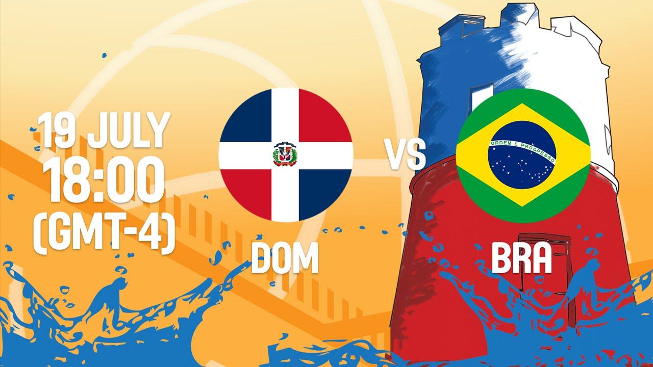 Dominican Republic v Brazil - Full Game - Group A