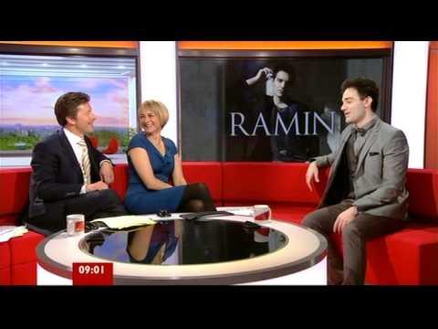 Ramin Karimloo Interview BBC Breakfast 2012