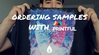Printful Sample Review - Checking Print Quality And Comparing Anvil Vs Bella Canvas